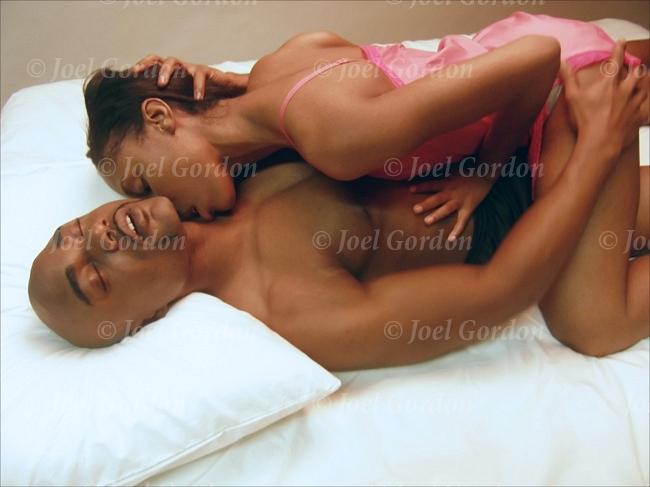 Black people having sex on video