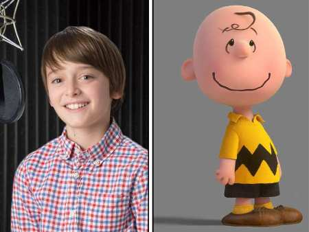 Noah Schnapp voices Charlie Brown