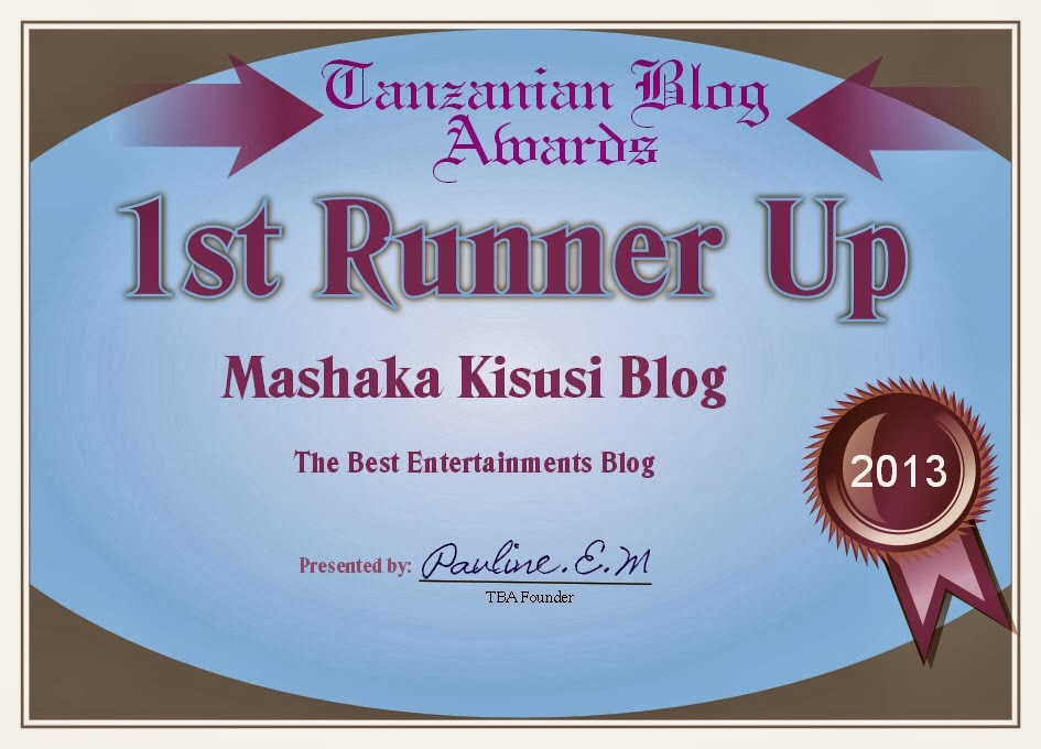 ENTERTAINMENT BLOG AWARD