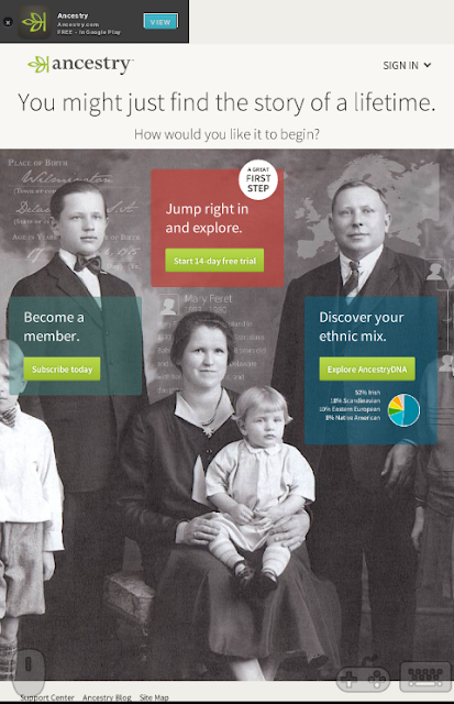 Ancestry.com - Know Your Legacy
