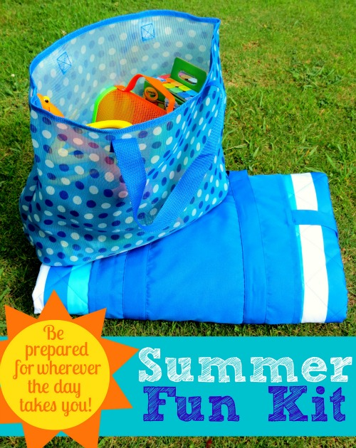 Summer Fun Kit- Be prepared for wherever the summer sun takes you!