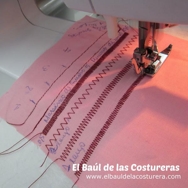Máquina de coser Bernette Moscow 2 recta zigzag elástico