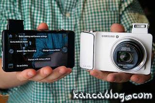 Siyah-beyaz galaxy camera-white black