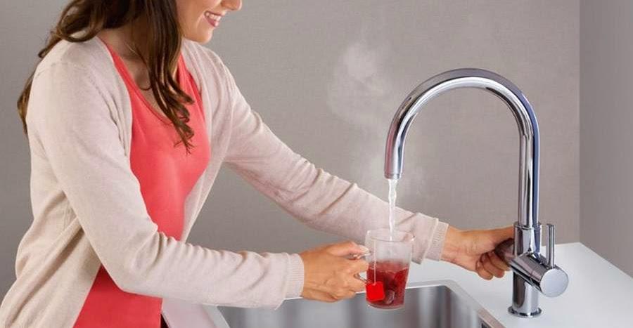 Grohe Red TM - agua caliente al instante