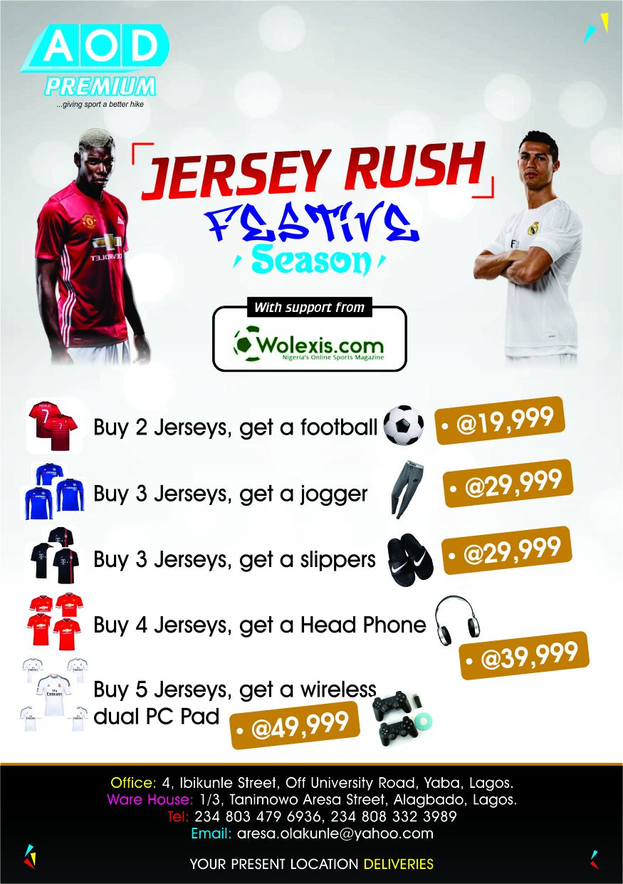 Take Part In The Festive Jersey Rush