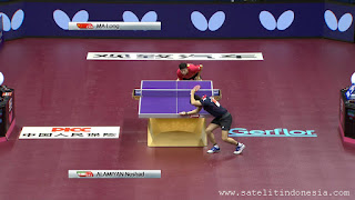 channel Table Tennis Ma Long vs Noshad Alamiyan