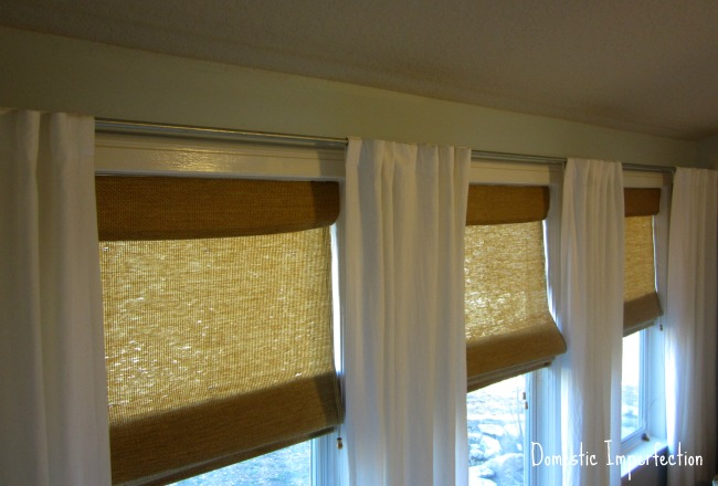 Domestic Imperfection How To Make Your Own Curtain Rods On The Cheap