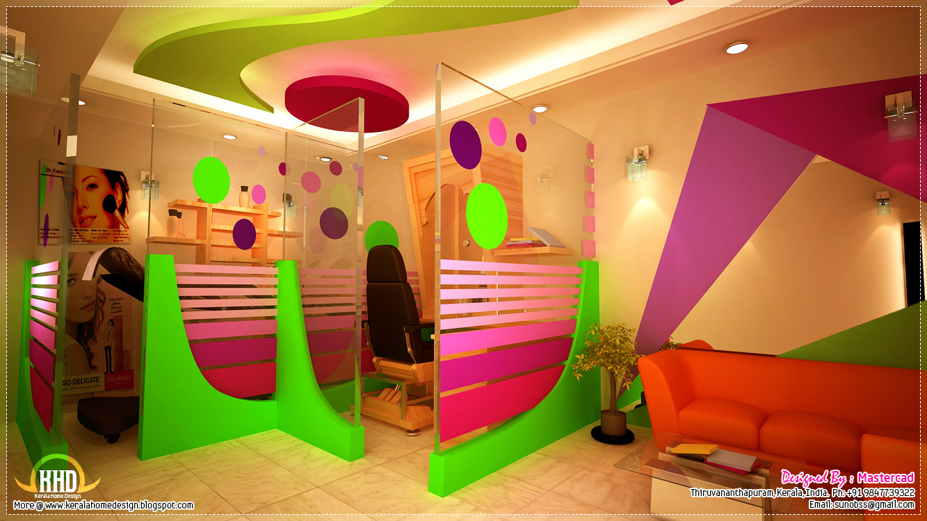 Interior design ideas house design plans for Beauty parlour interior designs