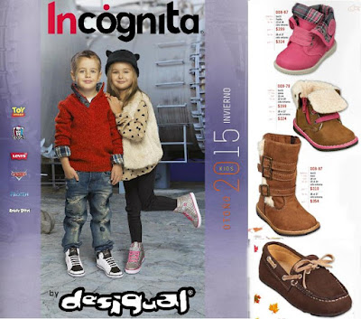Desigual Incognita Kids OI 2015