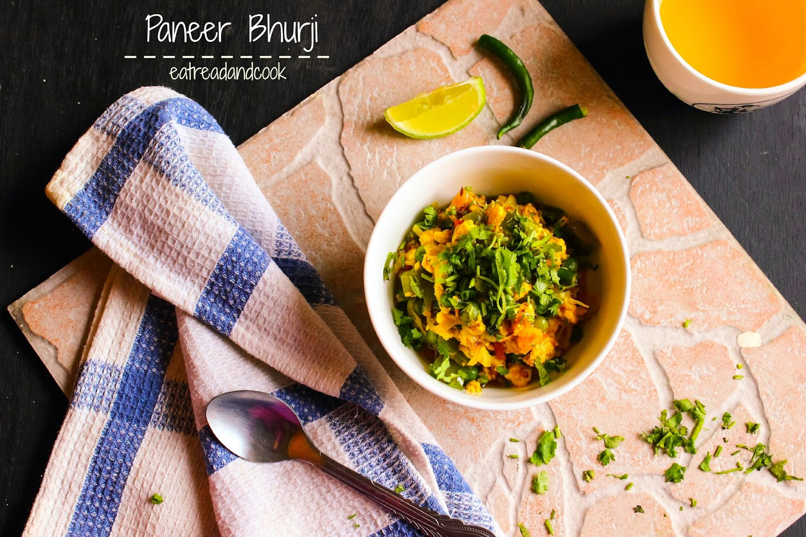 how to cook indian style healthy and tasty paneer bhurji