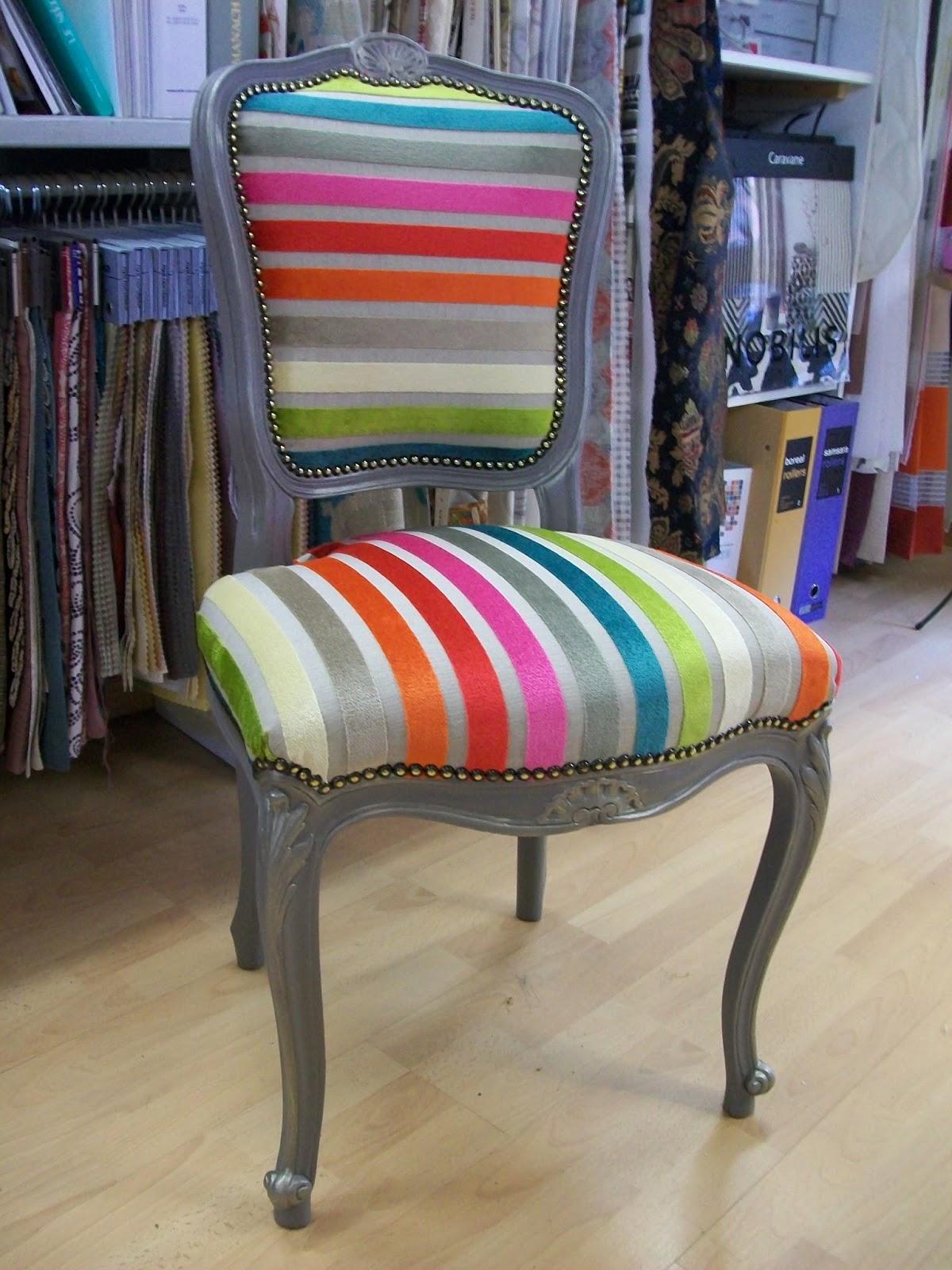 tissu tapissier pour chaise. Black Bedroom Furniture Sets. Home Design Ideas