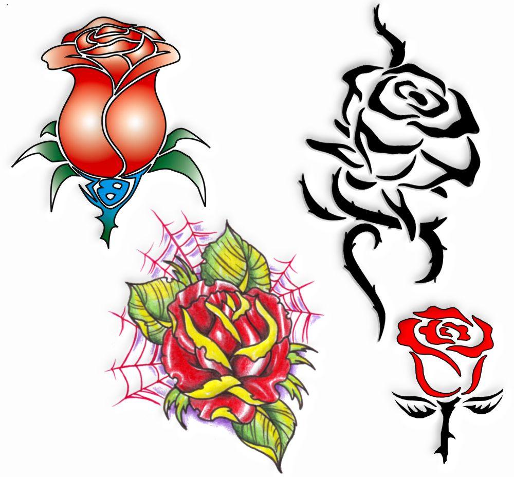 Tatuaż Wzory Tatuaży Róże