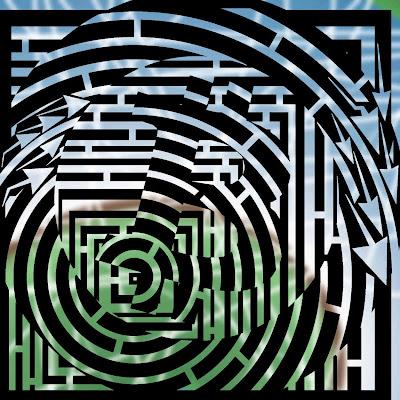 bitcoin maze art