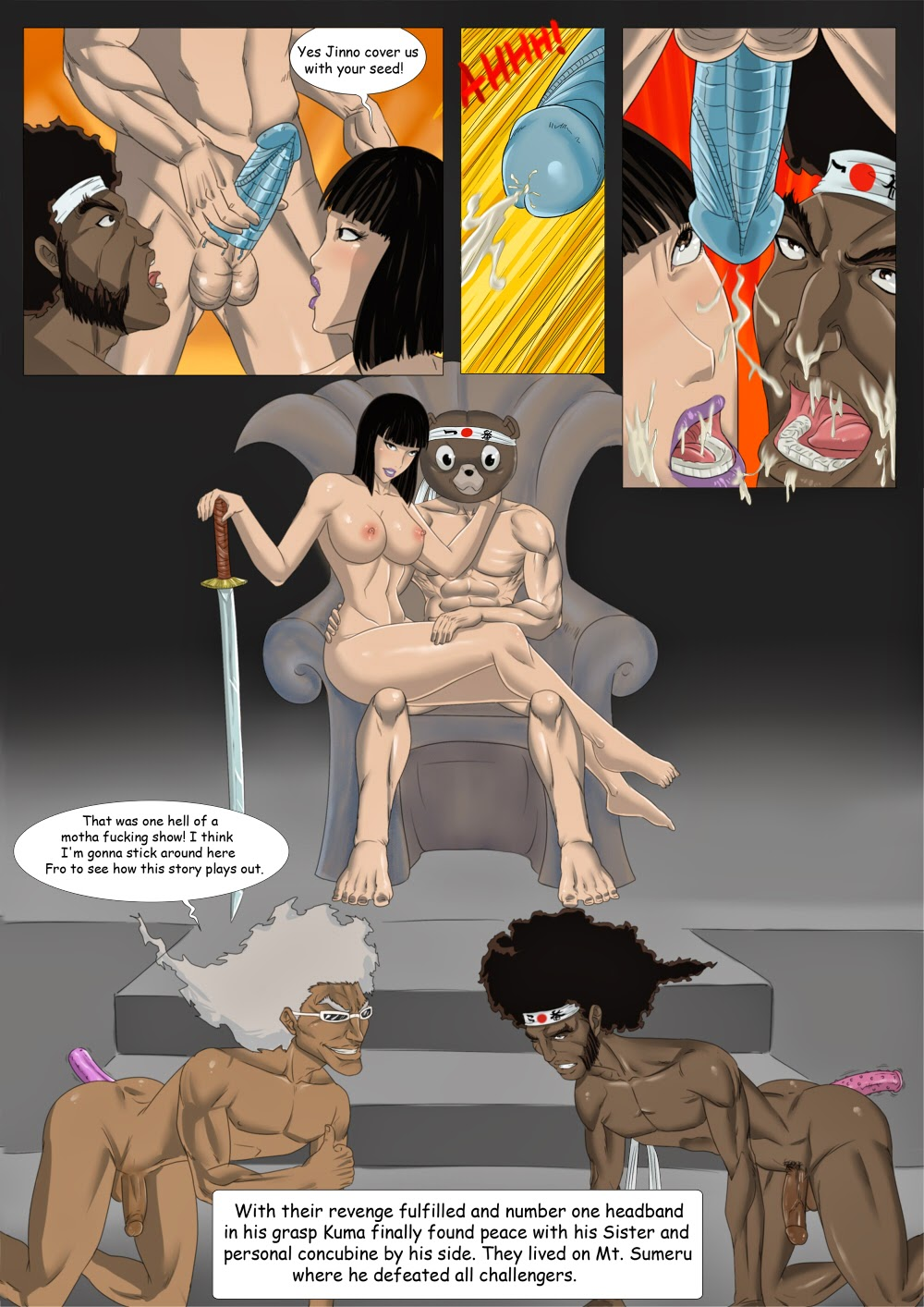 Afro samurai porn pic are absolutely