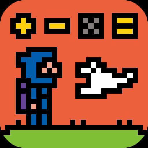 計算しながら忍者アクションが楽しめる電卓「Ninja Calc」Android App