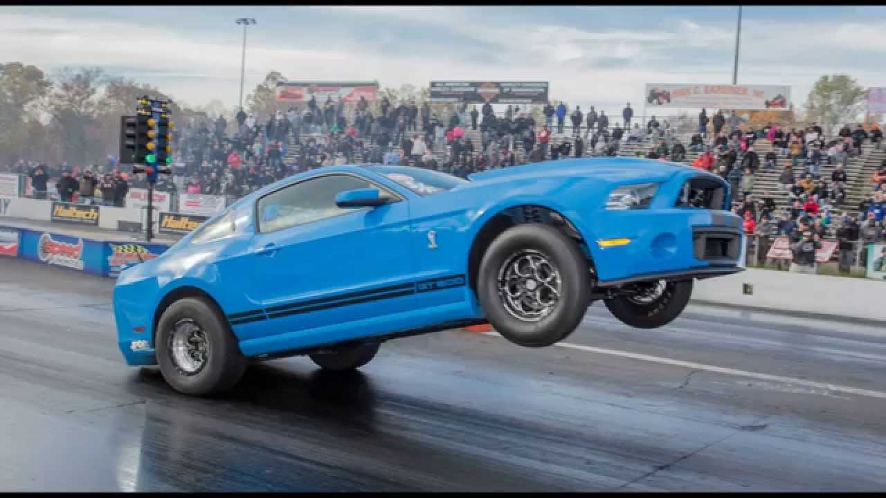 Wheelie King hp 2000 Shelby GT500  Evolution Performance