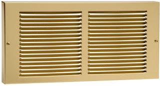 Brass Baseboard Register