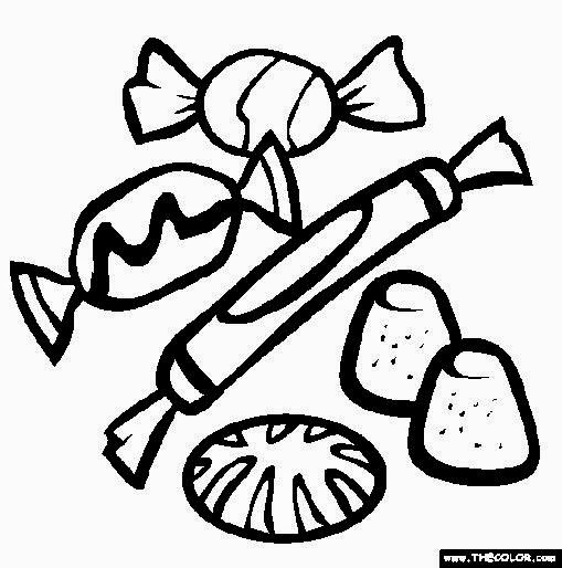 Ice Cream Cone Colouring Pages