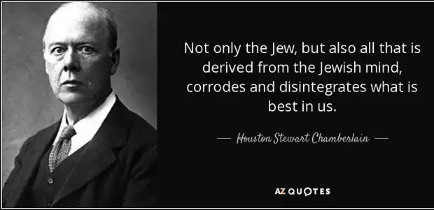 Houston Stewart Chamberlain: Η εθνική ενότητα συνδέεται με τους δεσμούς αίματος