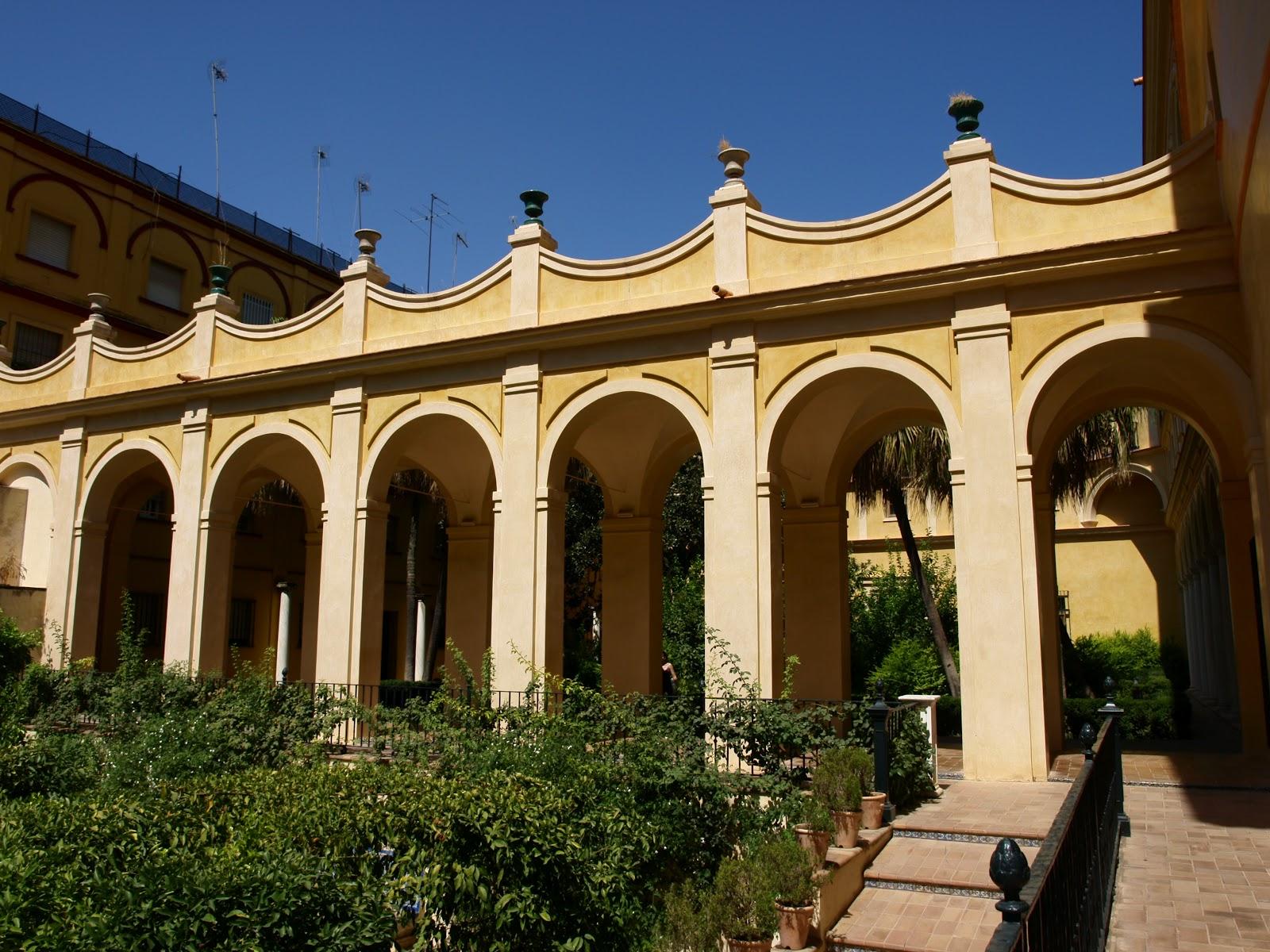 Sevilla daily photo alc zar 22 el jard n del pr ncipe for Jardines verticales sevilla
