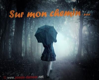 Fonds d'écran triste en parapluie femme