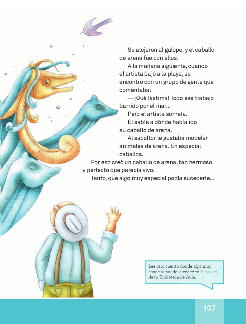 El caballo de arena- Español Lecturas 3ro 2014-2015