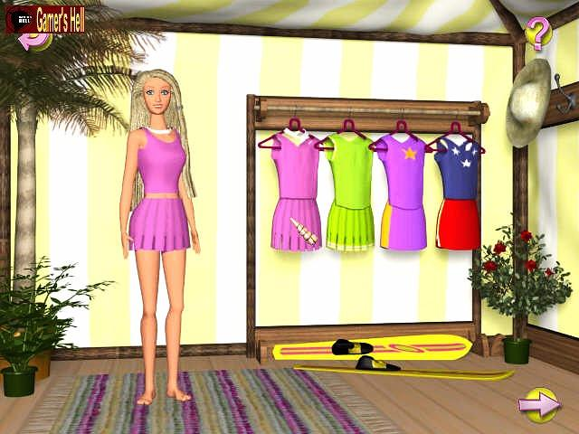 barbie beach vacation: