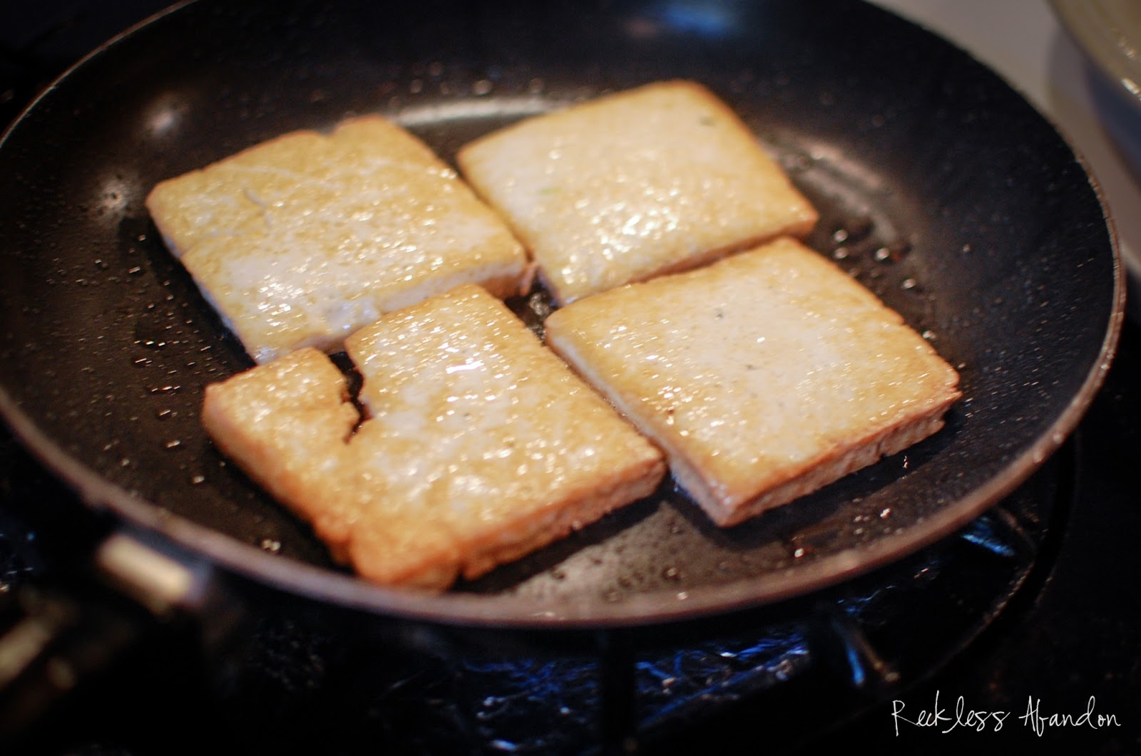how to cook firm tofu in a pan