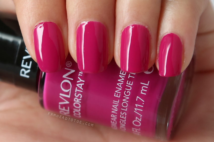 Manicure Monday: Revlon Rich Raspberry - From Head To Toe