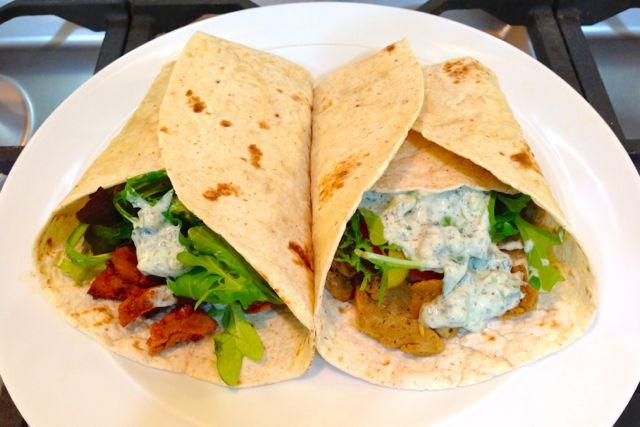 Vegan Doner / Gyros kebabs