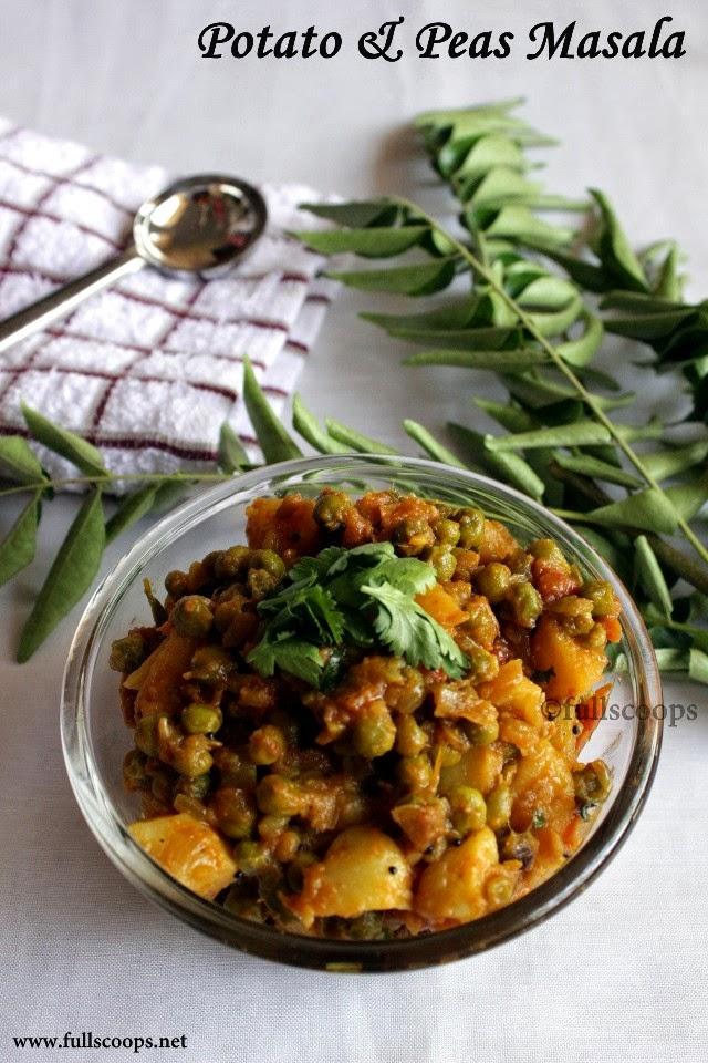 Potato & Peas Masala