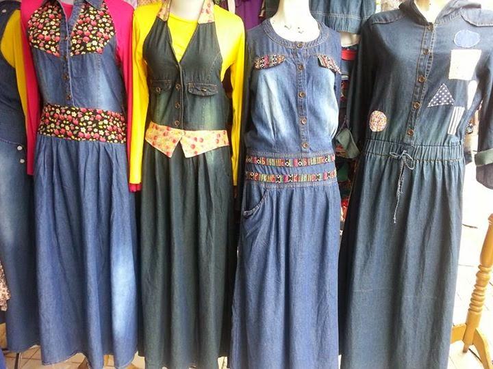 Jual Grosir Gamis Jeans Terbaru  Distributor Grosir Baju