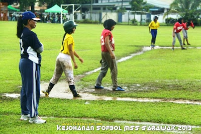 Kejohanan Sofbol MSS Sarawak 2013 di Miri