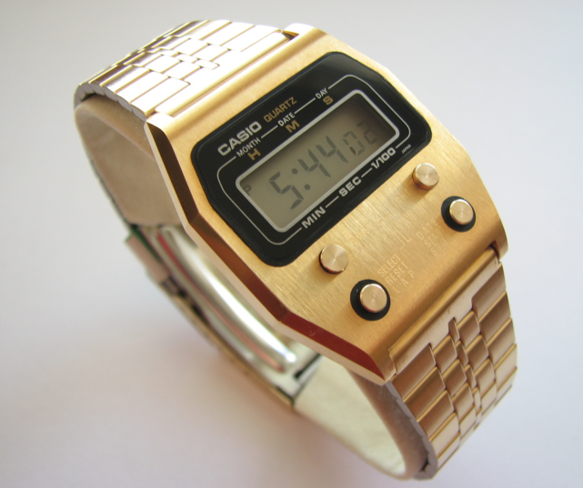 Gold Vintage Casio Watches