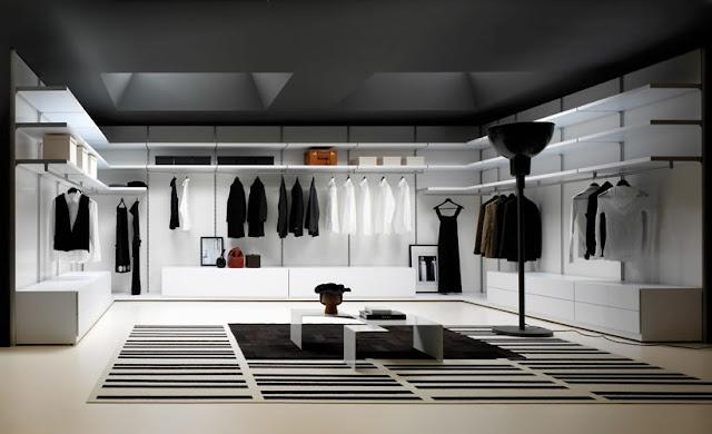 Baños Vestidores Diseno:Los amantes de la moda pueden dedicar una estancia entera a sus