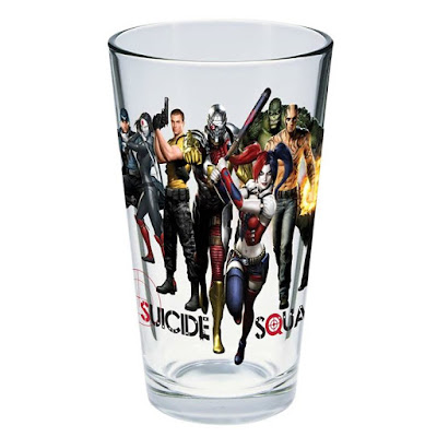 San Diego Comic-Con 2015 Exclusive DC Comics Suicide Squad 'Toon Tumbler Pint Glass