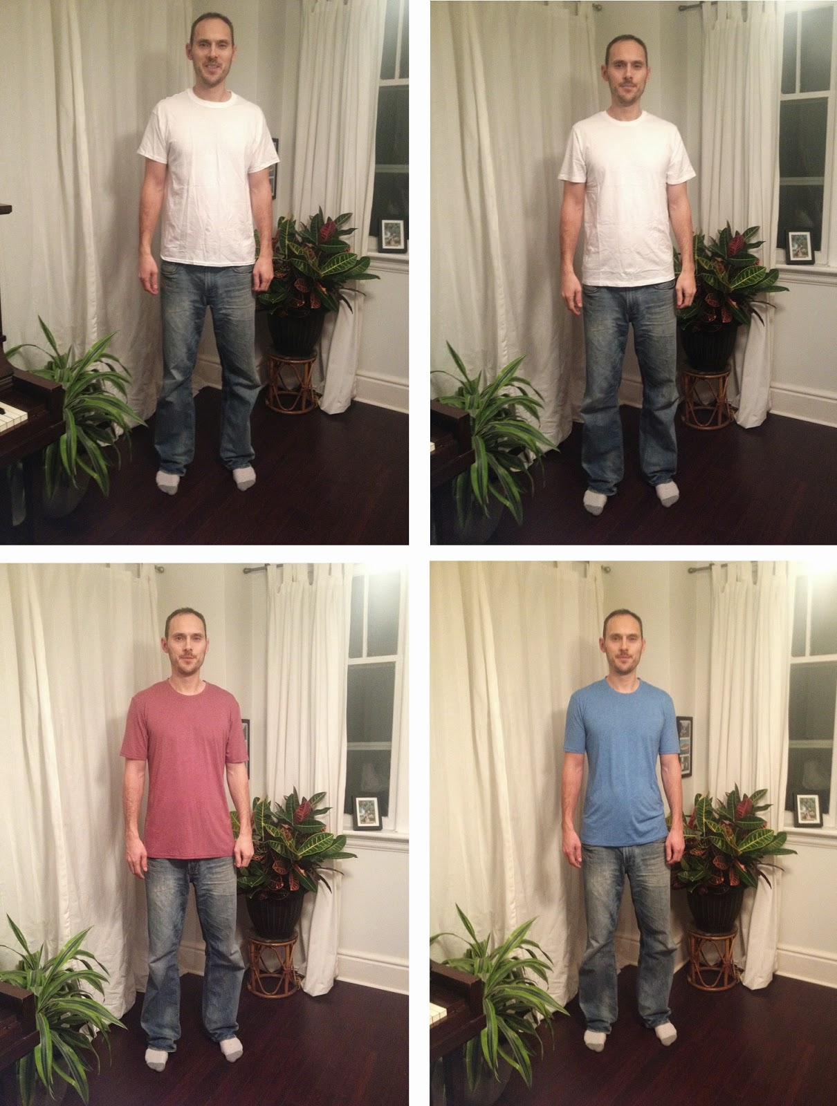 Tall Slim Tees vs Old Navy Tall T-Shirts for Tall People