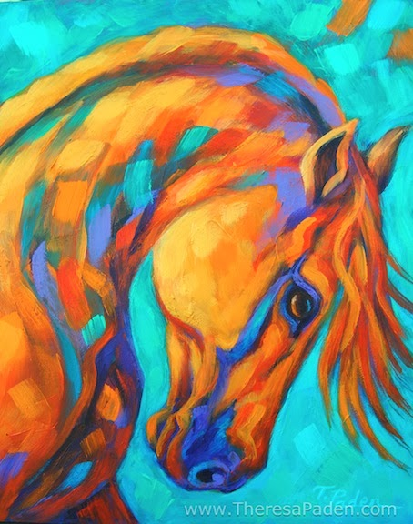 Images Of Colorful Abstract Horse Art As Good Info For You