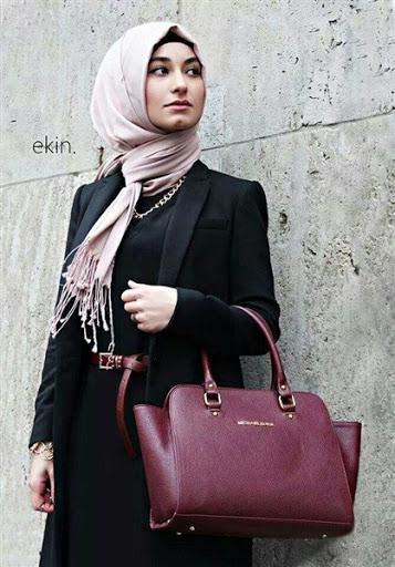 Model Baju Kerja Muslimah Terbaru 2019