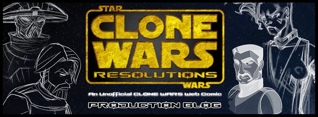 Clone Wars Resolutions - An Unofficial Clone Wars Web Comic