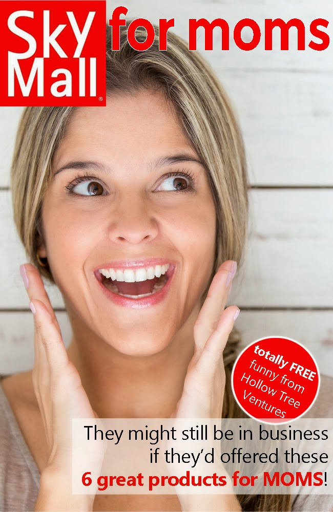 6 great products we wish were in SkyMall For Moms by Robyn Welling @RobynHTV