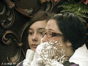Presenciamos imágenes tristes, muchos abrazos y lágrimas.