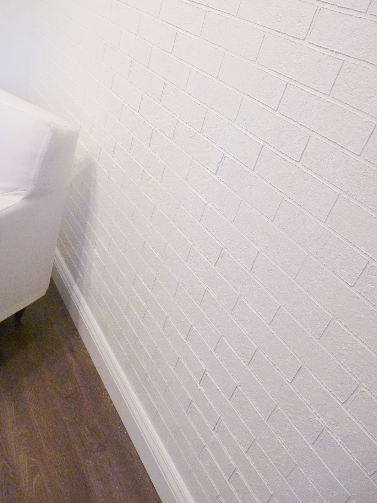 d i y   d e s i g n: How To Make a Faux Exposed Brick Wall