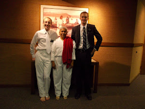 Elder Clough, Carmen, & Elder Johnson
