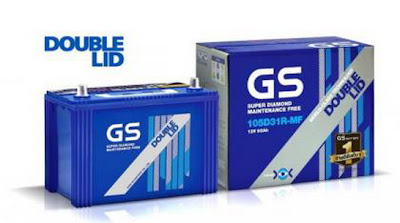 battery gs double-lid