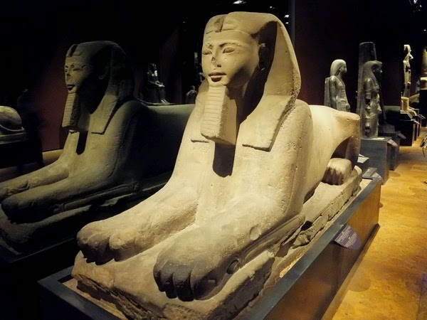 Turin Italie musée égyptien