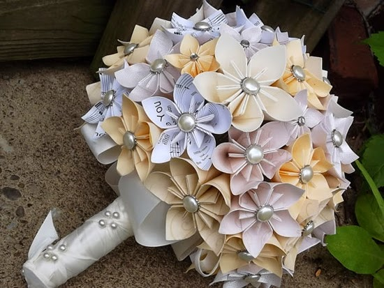 Origami flower bouquet wedding 3d origami for kids origami flower bouquet wedding mightylinksfo