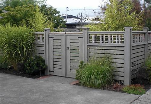 House Backyard Fence : think the next step is to get samples and paint them on for an in