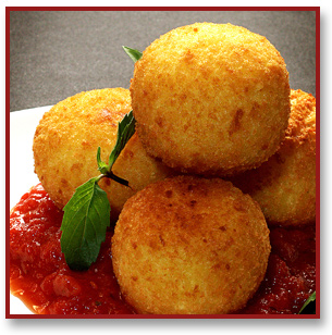 Italian Rice Balls Strufoli - Traditional Christmas Food Idea