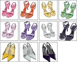 todos+os+sapatos+p+vestido+preto COMO COMBINAR ROUPA COM SAPATO
